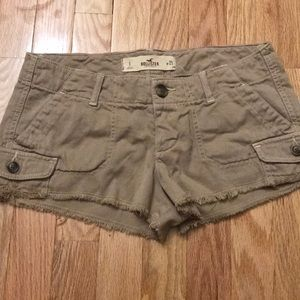 Hollister shorts size 25 worn